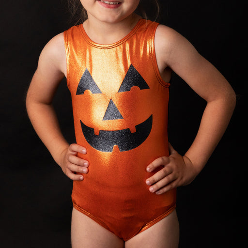 Pumpkin Face Leotard