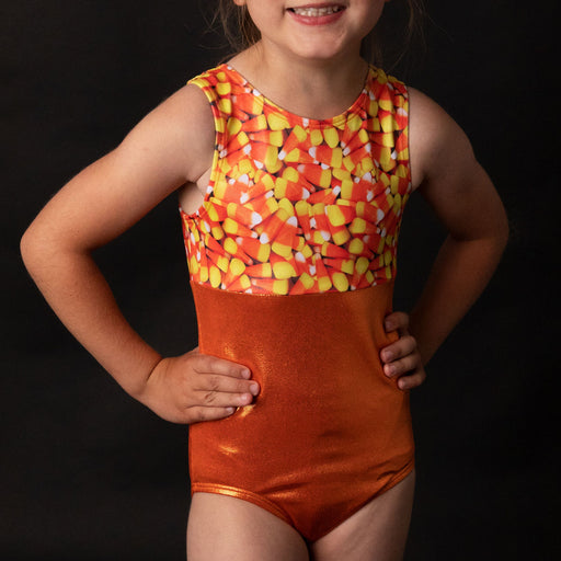 Candy Corn Leotard