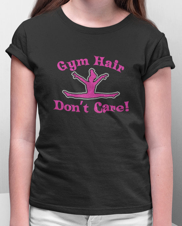 Gym Hair Don't Care Tee