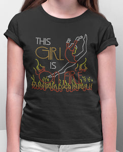 This Girl in on Fire Tee