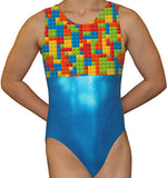 Building Blocks Leotard - AERO Gymnastics Leotards