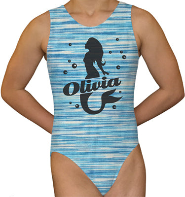 Personalized Mermaid Leotard - AERO Leotards