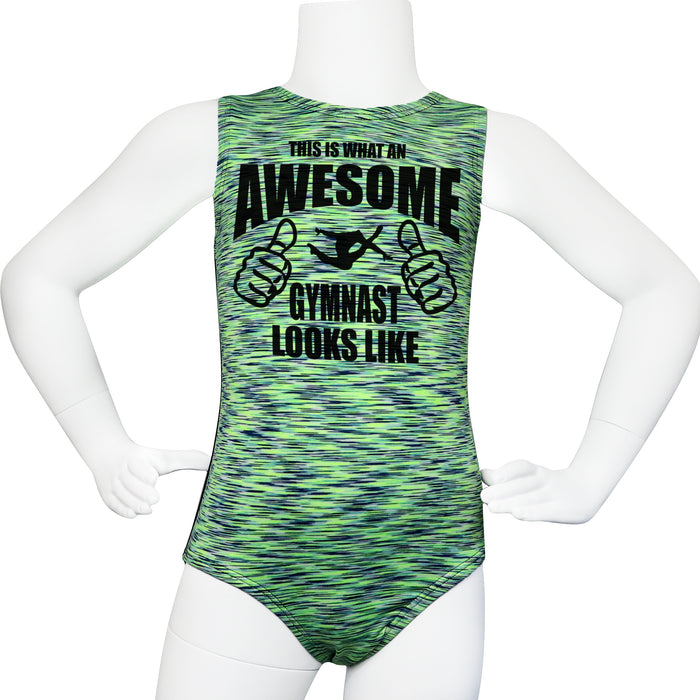 Awesome Gymnast Leotard