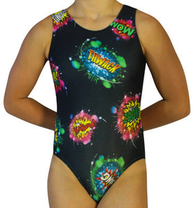 Comic Book Leotard - AERO Leotards
