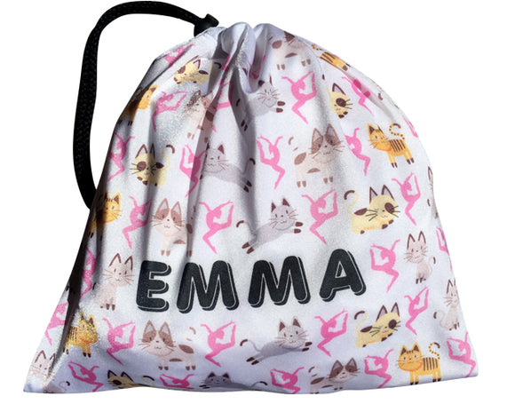 Personalized Cats Grip Bag - AERO Leotards