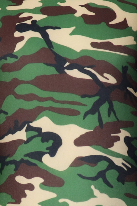 Camouflage Leotard - Green