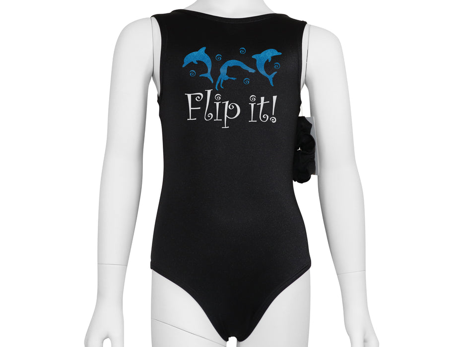 Dolphin Flip It  Leotard