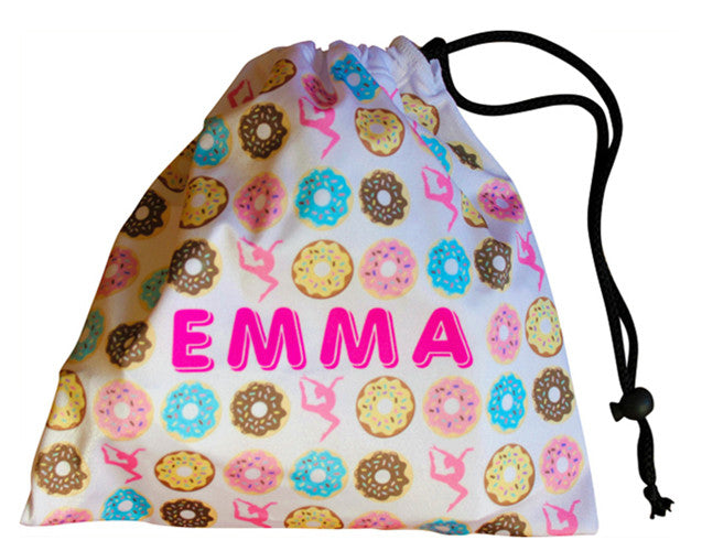 Personalized Donut Grip Bag