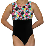 Donuts & Dumbbells Leotard - AERO Leotards