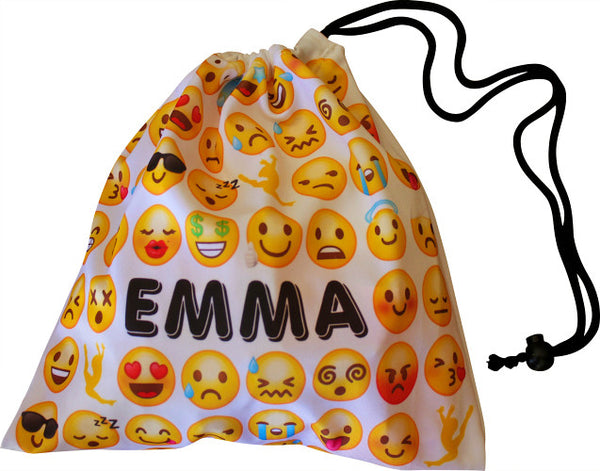 Personalized Emoji Grip Bag