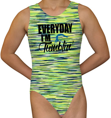 Everyday I'm Tumblin' Leotard - AERO Leotards