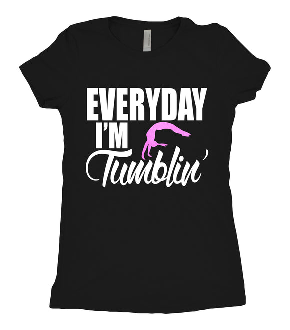 Tee Shirt - Everyday I'm Tumblin' - AERO Leotards