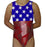 USA Flags & Stars Leotard - AERO Leotards