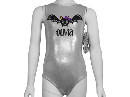 Personalized Halloween Bat Leotard