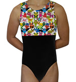 Scary Monsters Leotard - AERO Leotards