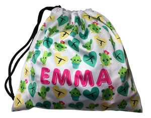 Personalized Cactus Grip Bag - AERO Leotards