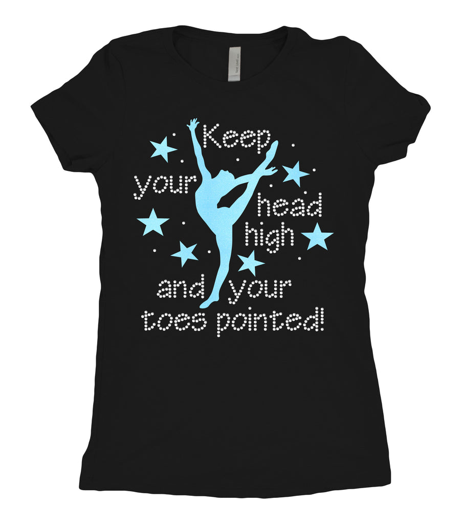 Tee Shirt - Keep your head high