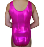 Berry Fuchsia Mystique Tank - AERO Gymnastics Leotards