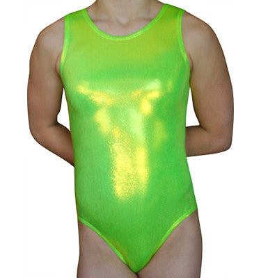 Lime Mystique Tank - AERO Leotards