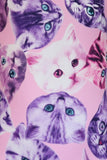 Cat Heads - Pink - AERO Gymnastics Leotards