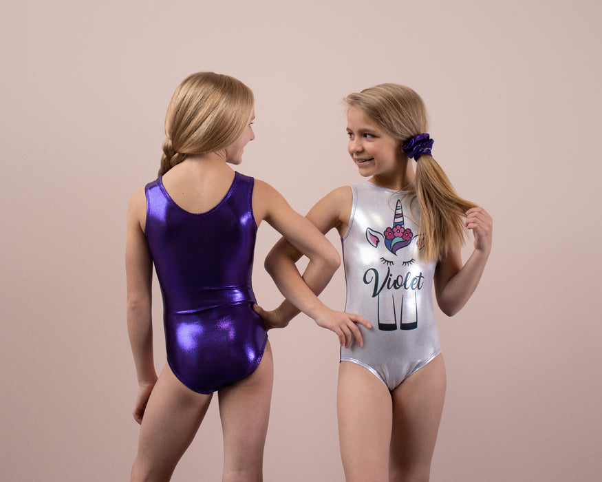Unicorn Leotard - Personalized