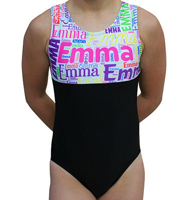 Personalized Gymnastics Leotard