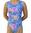 Blue Flamingo Leotard - AERO Gymnastics Leotards
