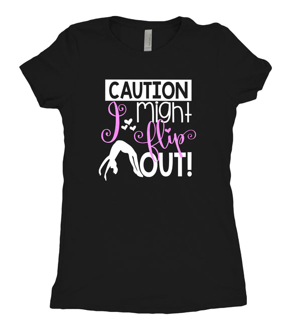 Tee Shirt - Caution - AERO Leotards