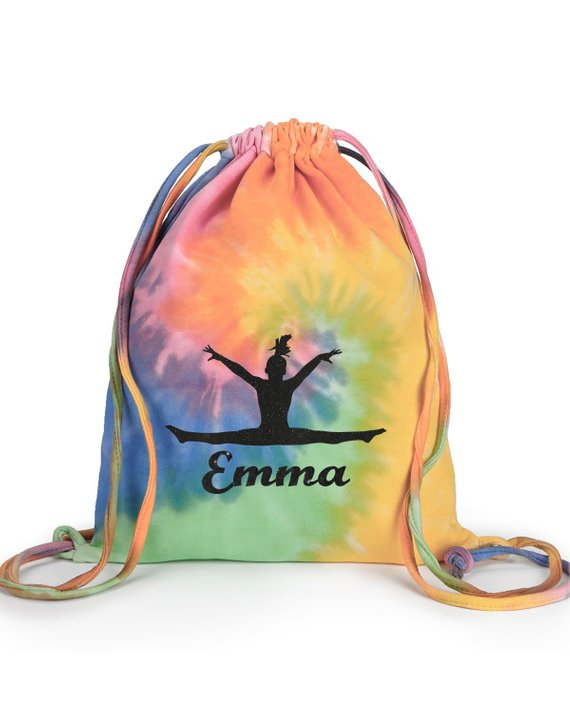 Cinch Sack - Eternity Tie Dye - AERO Gymnastics Leotards