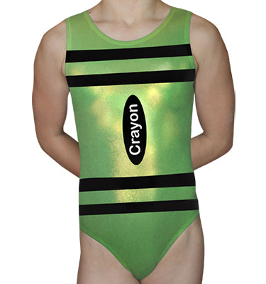 Lime Crayon Leotard