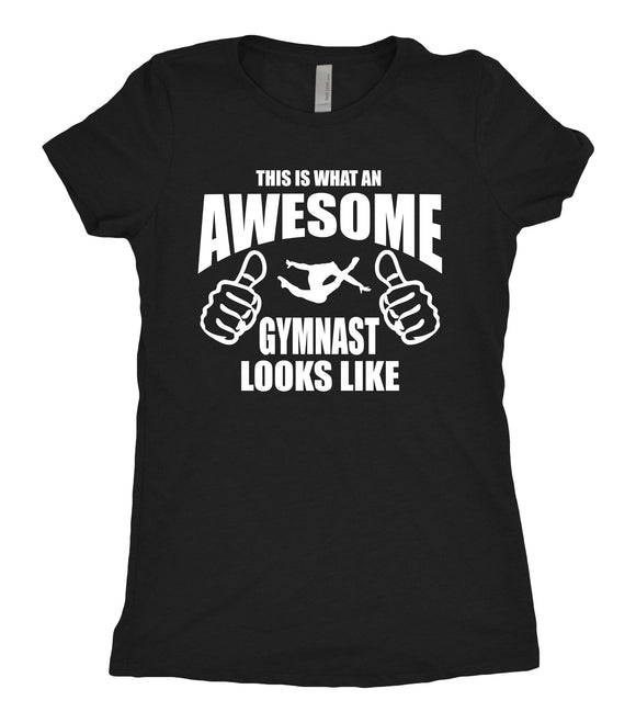 Tee Shirt - Awesome Gymnast - AERO Leotards