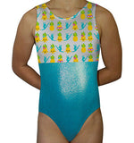 Kawaii Pineapple & Gymnasts Leotard - AERO Leotards