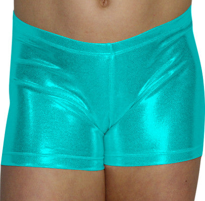 Hawaii Mint Mystique Shorts - AERO Leotards