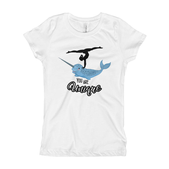Girl's Narwhal T-Shirt - AERO Gymnastics Leotards