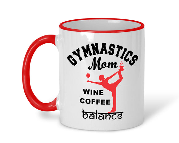 Gymnastics Mom Mug - AERO Leotards