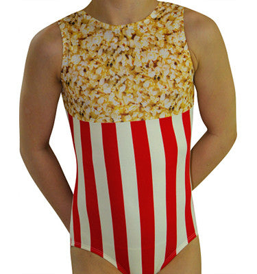 Popcorn Gymnastics Leotard by AERO Leotards
