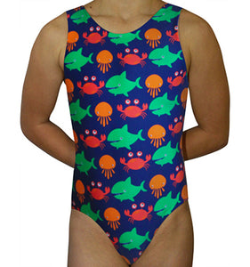 Ocean Creatures Leotard - AERO Leotards