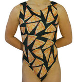 Cheese Pizza Leotard by AERO Leotards