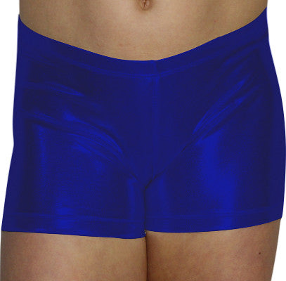 Royal Blue Mystique Shorts - AERO Leotards
