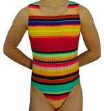 Knitted Sweater Leotard - AERO Leotards