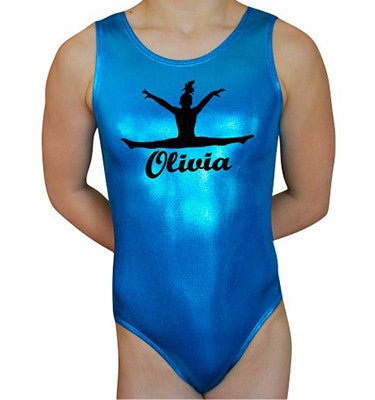 Personalized Leotard - Ocean - AERO Leotards