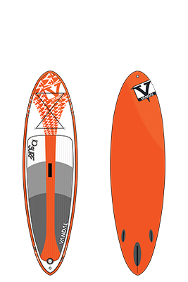 Vandal Inflatable SUP - IQ Free