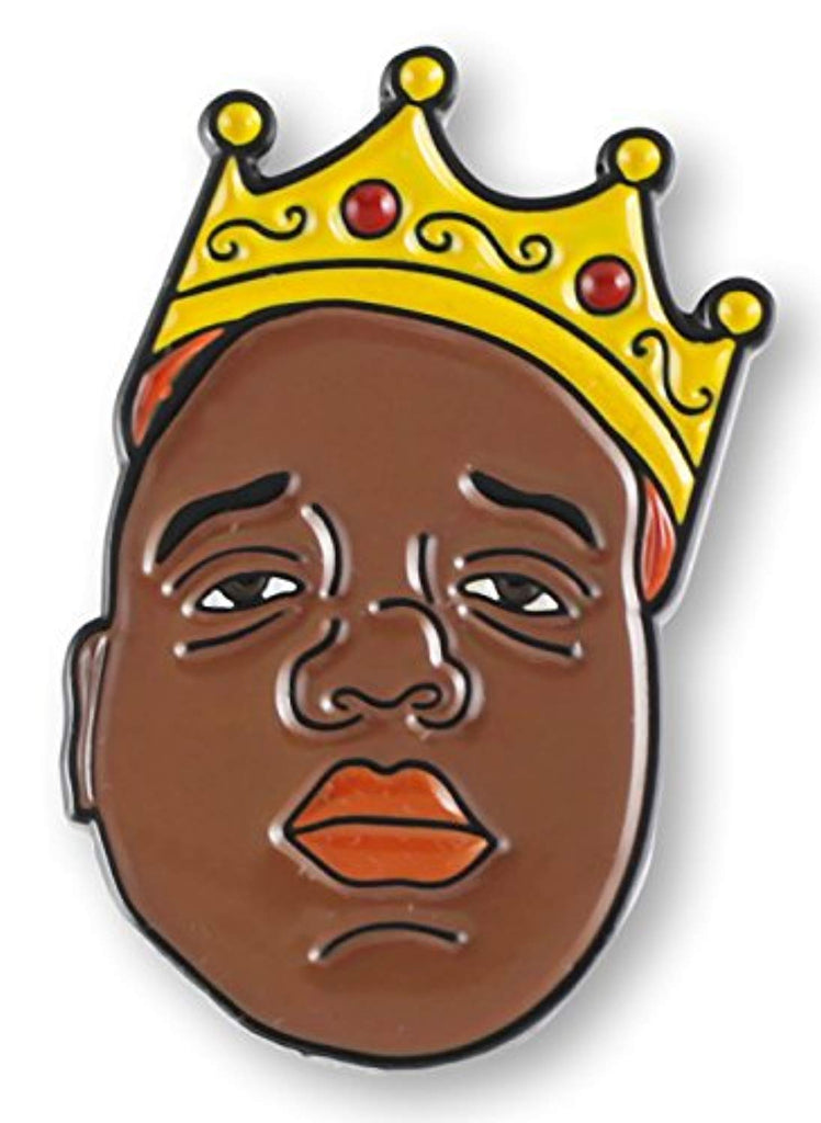 Notorious B.I.G. Enamel Lapel Pin - Akili Kabibe Apparel