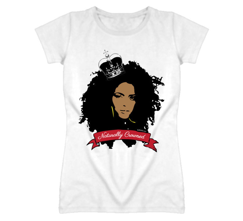 Naturally Crowned Women's Natural Hair Relaxed Fit T-shirt