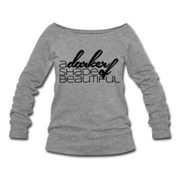 A Darker Shade of Beautiful Slouchy Sweatshirt - Gray