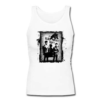 Black Panther Party Revolutionary Women's Premium Tank Top - White