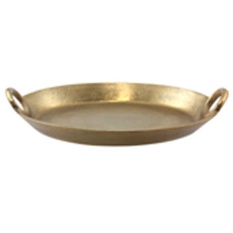 Textured Gold Tray 38cm - The Chic Nest