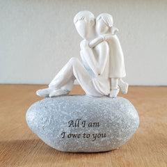 All I Am I Owe To You Figurine - The Chic Nest
