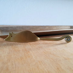Antique Gold Mouse Cheese Knife - The Chic Nest
