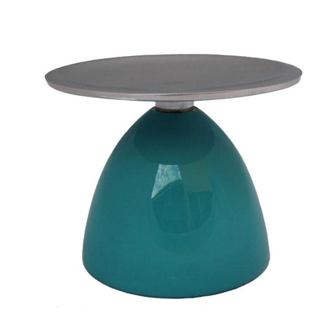 Aqua Pillar Candle Holder - The Chic Nest